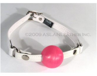 Aslan Pretty in Pink Ball Gag