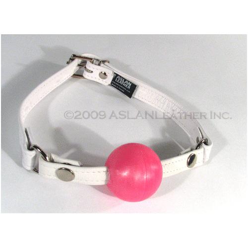 Aslan Pretty in Pink Ball Gag