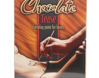 Chocolate Tease: Foreplay game for lovers