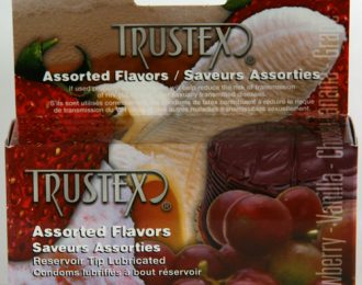 Trustex Flavours Assorted 12pk