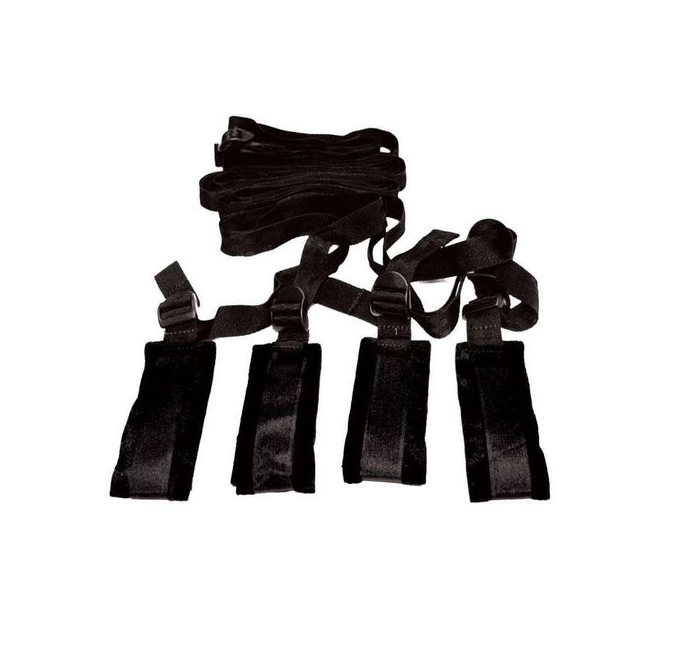 S&M Bed Bondage Restraint Kit